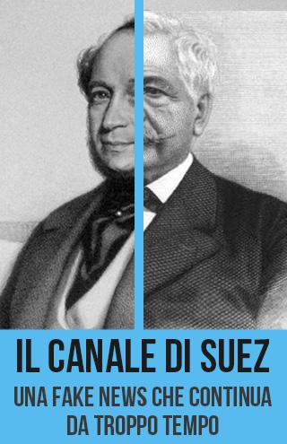 Fake news: il canale di Suez