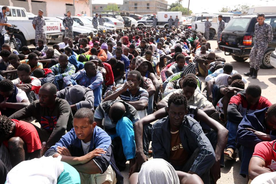 schiavi della milizia in libia