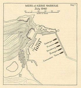 Mers el kebir 1940 operazione catapulta mappa